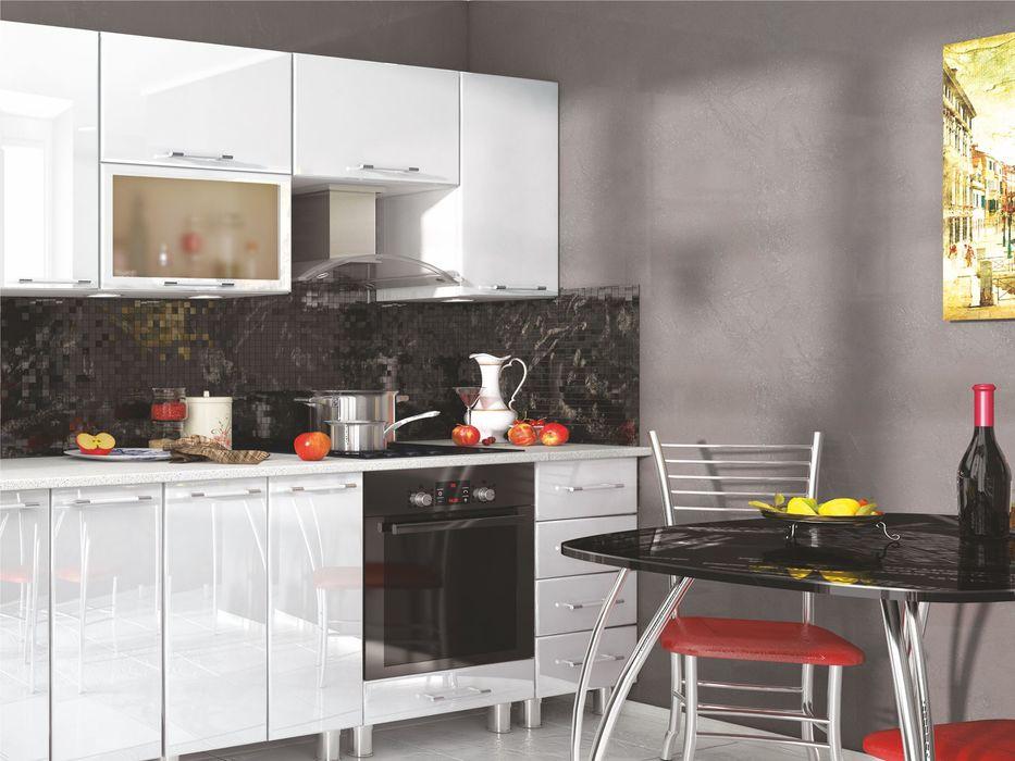 Кухня Танго модульная угловая белый